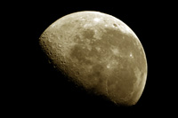 Lune, moon photo